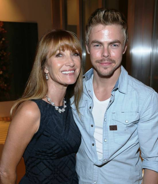 Jane Seymour & Derek Hough