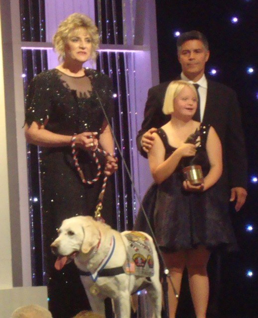 Hallmark's Hero Dog Awards (photo by Margie Barron)