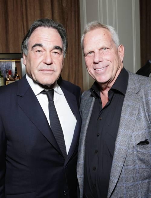 Oliver Stone & Steve Tisch at NYU Tisch School Event