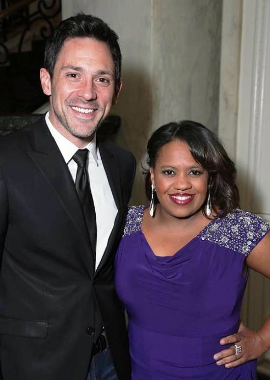 Co-hosts, Grammy & Tony Winner, Steve Kazee & actress Chandra Wilson