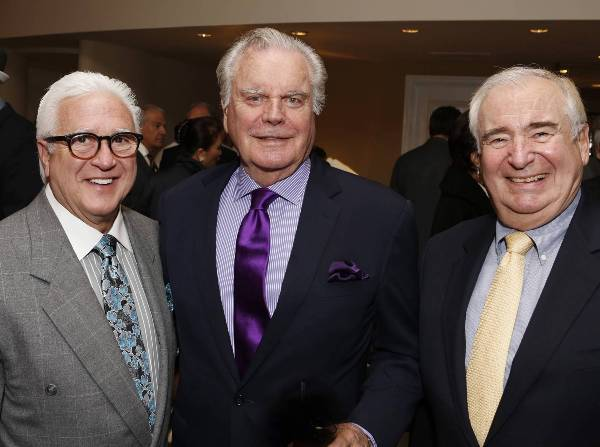 Vin Di Bona, Robert Wagner, Dennis Doty at Caucus Awards