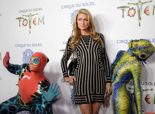 "Paris Hilton & ""Pets"" at TOTEM"