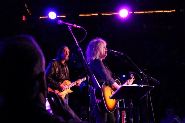 Stuart Mathis and Lucinda Williams