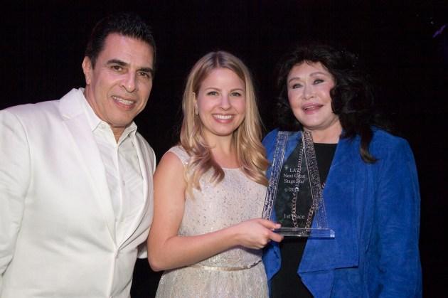 Michael Sterling, Jennifer Kranz, Barbara Van Orden,  photo by Bill Dow