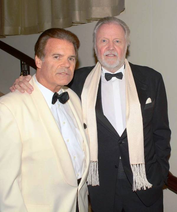PR WIZ, Edward Lozzi with Jon Voight