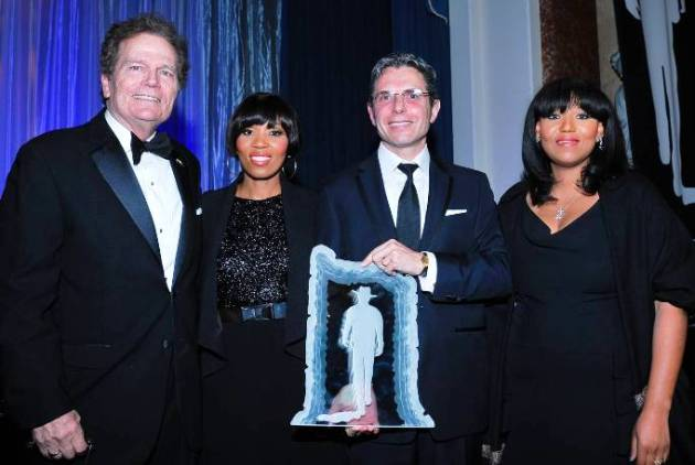 Patrick Wayne, Dr Anton Bilchik & Mandela Granddaughters, at John Wayne Odyssey Ball