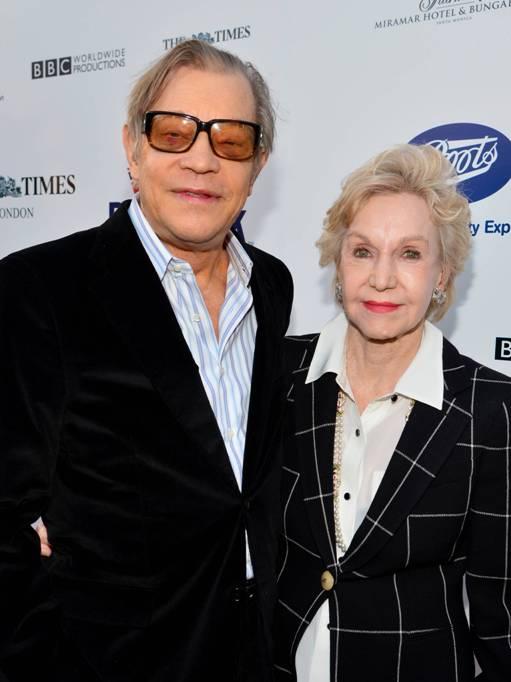 Actor Michael York& Wife, Patricia McCallum