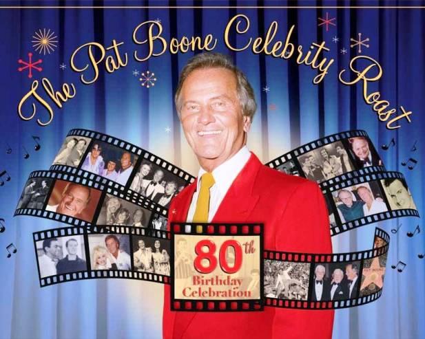 Invitation to Pat Boone's 80th Birthday Roast