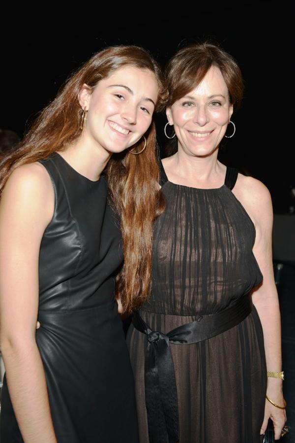 Jane Kaczmarek and daughter Frances Whitford