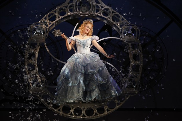 """Wicked"" star Chandra Lee Schwartz (photo credit: Joan Marcus)"