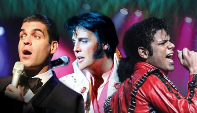"WE 3 KINGS ""Sinatra, Elvis, Michael Jackson"" tribute performers at El Portal Theatre"