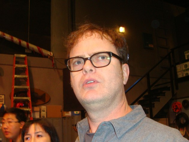 Rainn Wilson (photo by Margie Barron)