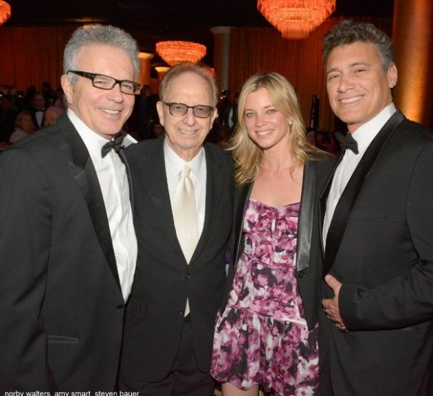 Tony Denison, Norby Walters, Amy Smart & Steve Bauer at Night of 100 Stars