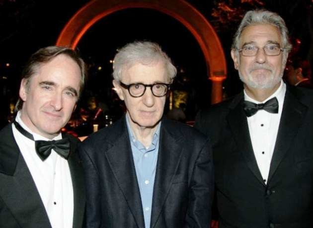 Conductor James Conlon, Woody Allen & Placido Domingo at LA Opera