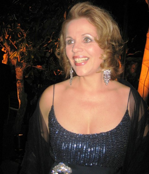 Opera Diva Renee Fleming at L. A. Opera (Photo credit to Craig Mathew for all of the above images)