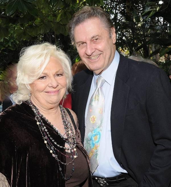 Renee Taylor & Joe Bologna celebrating 50 yrs of marriage