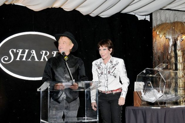 Actor/Comedian John Byner with September Sarno at SHARE