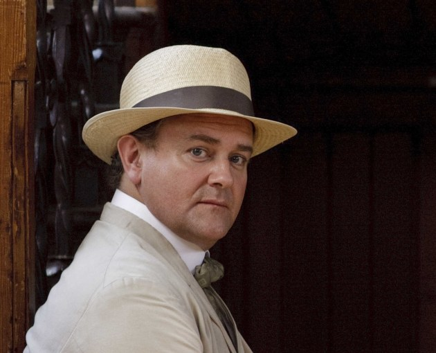 Downton Abbey's Lord of the Manor, Hugh Bonneville (courtesy of PBS)