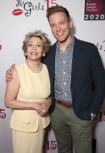 LesGirls honoree Joyce Brandman and Barrett Foa (ToddWilliamson/WireImage)