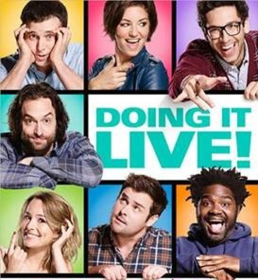 The cast of Undateable is doing the sitcom live Fridays at 8 on NBC