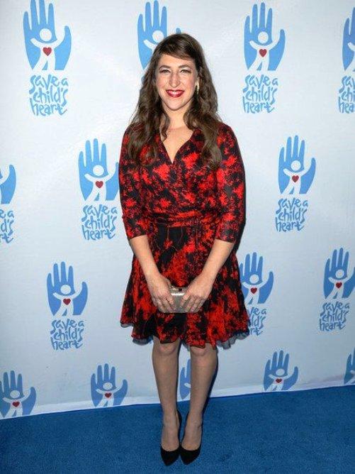 Actress Mayim Bialik (Big Bang Theory) at Save A Child's Heart Gala