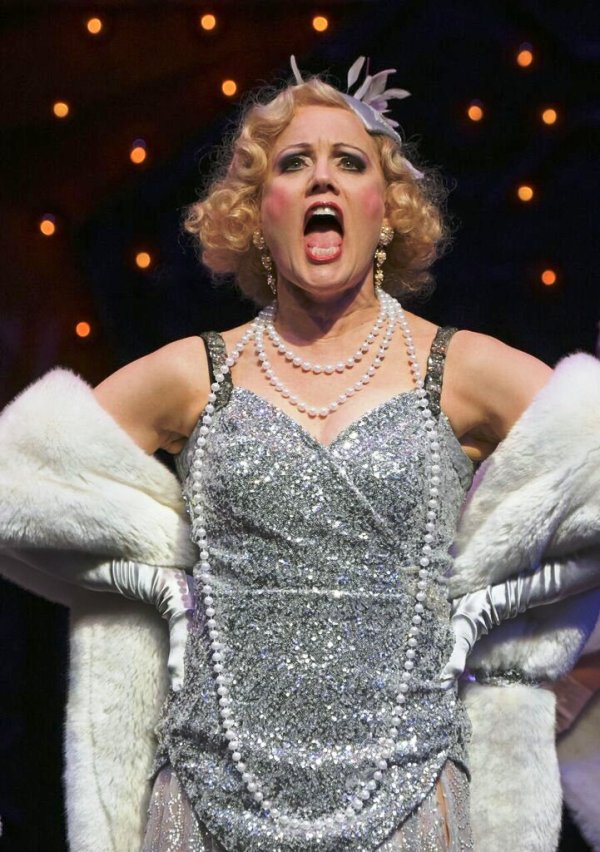 Robin Goodrin Nordi (Adelaide) in Guys & Dolls