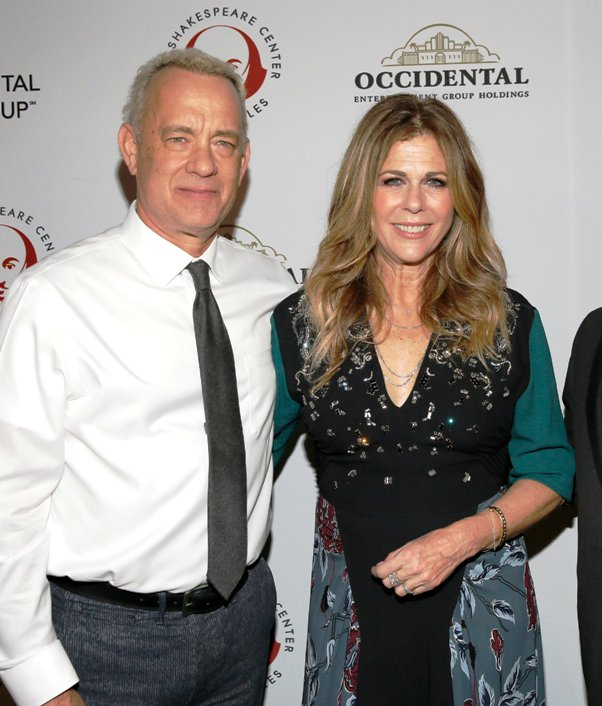 Tom Hanks & Rita Wilson at Simply Shakespeare