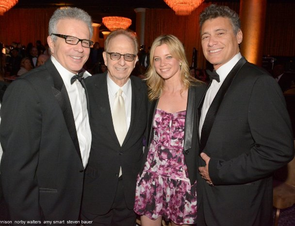 Tony Dennison, Norby Walters, Amy Smart, Steve Bauer at Night of 100 Stars