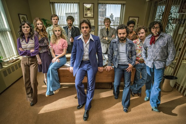 The cast of HBO's Vinyl (photos courtesy HBO)