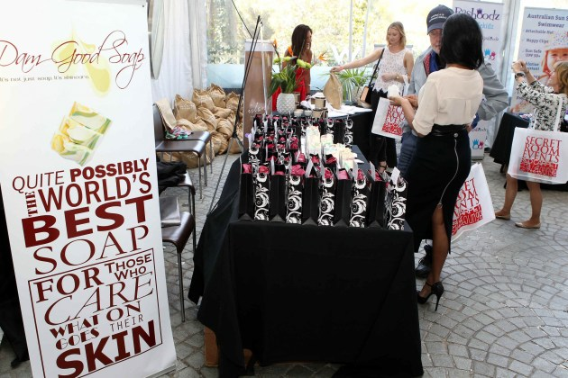 Dam Good Soap lathers up the Hollywood crowd