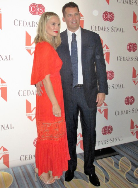 Molly Sims and Scott Stuber (photo by MargieBarron)
