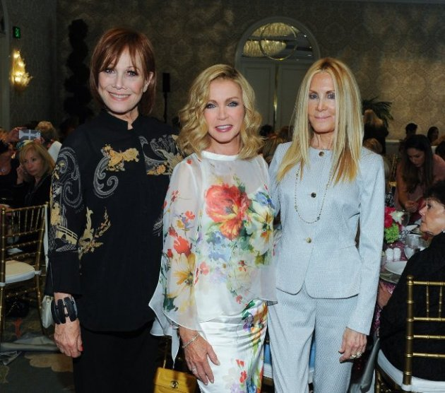 Actresses Michelle Lee, Donna Mills Joan Van Ark (Knots Landing)