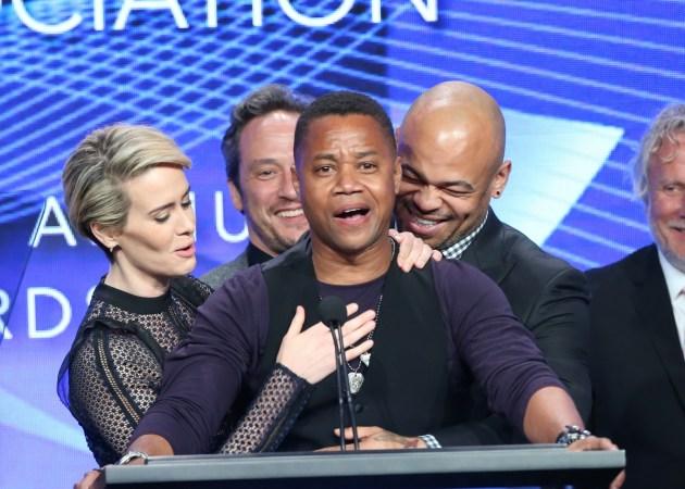 The People v. O.J. Simpson capture TCA Awards