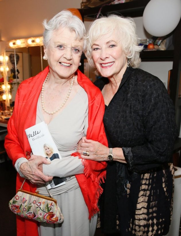 Angela Lansbury with Betty Buckley at Opening Night of Grey Gardens (Photo Credit: Ryan Miller - Capture Imaging)