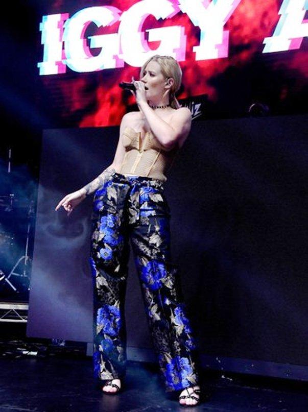 Iggy Azalea performing at Maxim100 (Photo Credit - Getty Images)