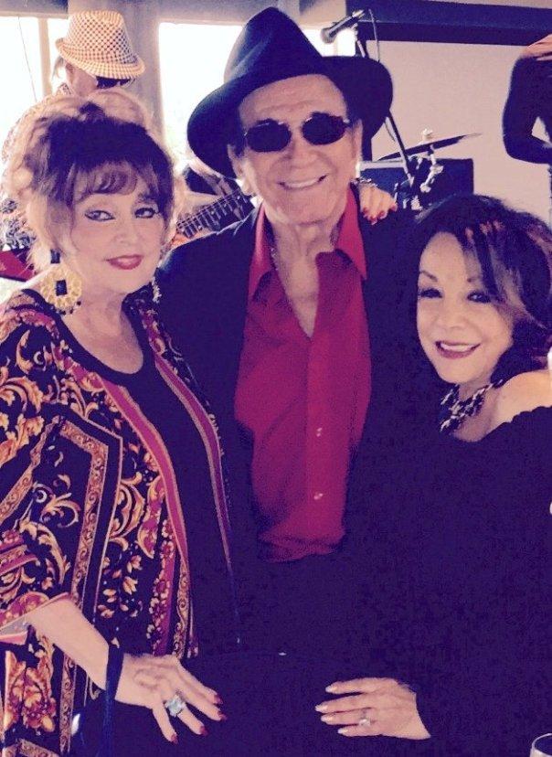Columnist Marci with Trini Lopez & Grace Robbins (Photo credit: Sam)