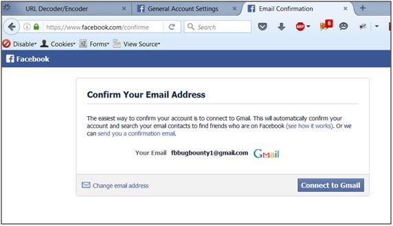 Atacatorului i se solicită să confirme propria adresă de e-mail