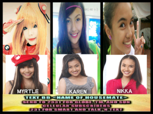 Pinoy Big Brother Teen Edition Season 4 Second Nomination Results: Karen Myrtle and Nikka To