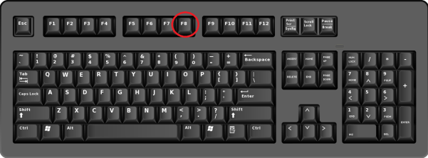 F8-keyboard