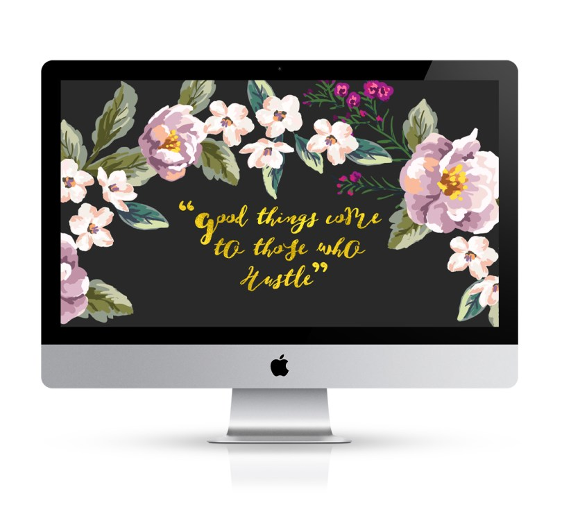 Free Floral Desktop Downloadable