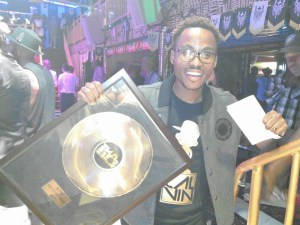 Rapper, Cal Vin at the 2015 Zim Hip Hop Awards Source: mcpotar.com
