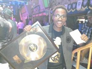 Rapper, Cal Vin at the 2015 Zim Hip Hop Awards Source: mcpotar.com