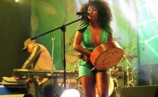 Ammara Brown At the Golden Pilsener Afro Fusion Concert