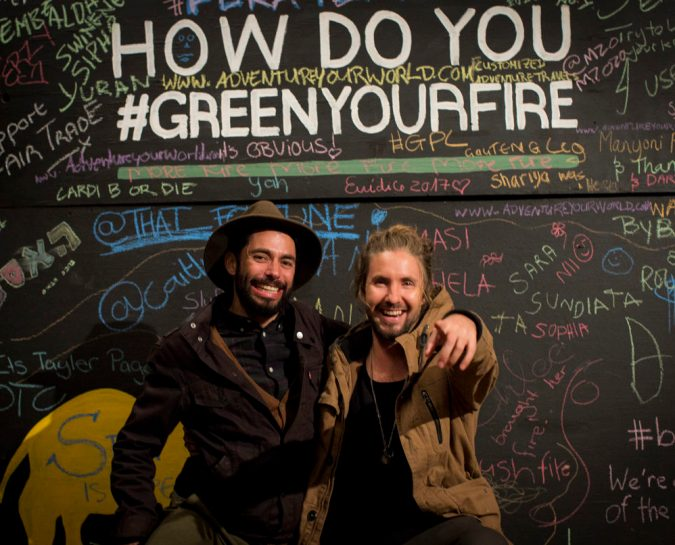 #GreenYourFire :  A Culture Sustainable Celebration for #BushFire2017