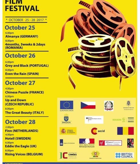 Here's what's showing at the EU Film Fest in #Bulawayo