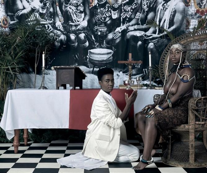 Zimbabwean Art Activist Kudzanai Chiurai Makes a Dramatic Return with Solo Exhibit