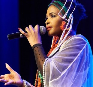 Simphiwe Dana's History Making All Womxn Band in Honour of 100 years of Madiba & Tambo