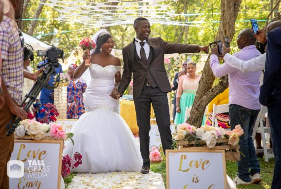 These Pictures of Doc Vikela's wedding are giving us ALL the Feels
