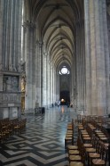 The long south transept of Amiens Cathedral