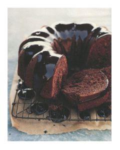 Chocolate Beer Cake shape
